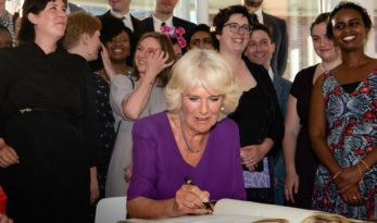 RSL welcomes HRH The Duchess of Cornwall as new Royal Patron